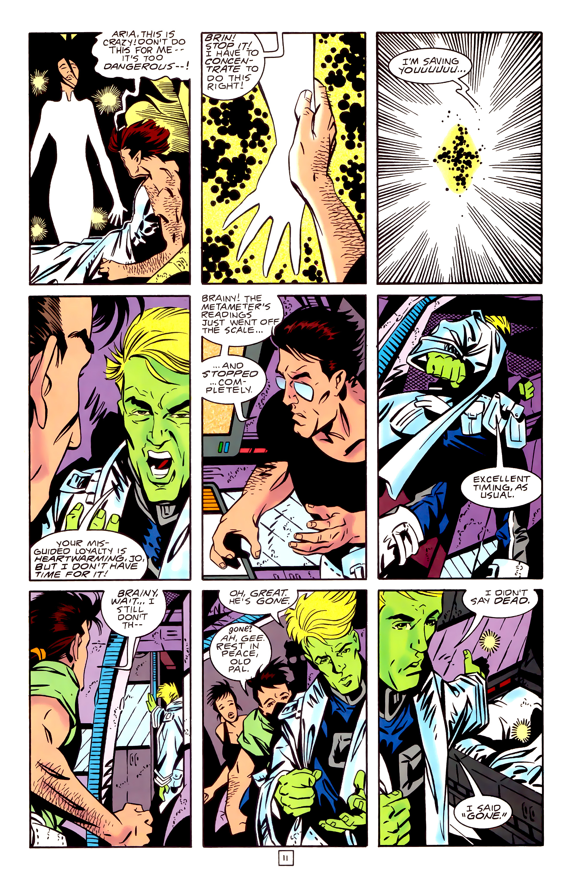 Legion of Super-Heroes (1989) _Annual_3 Page 11