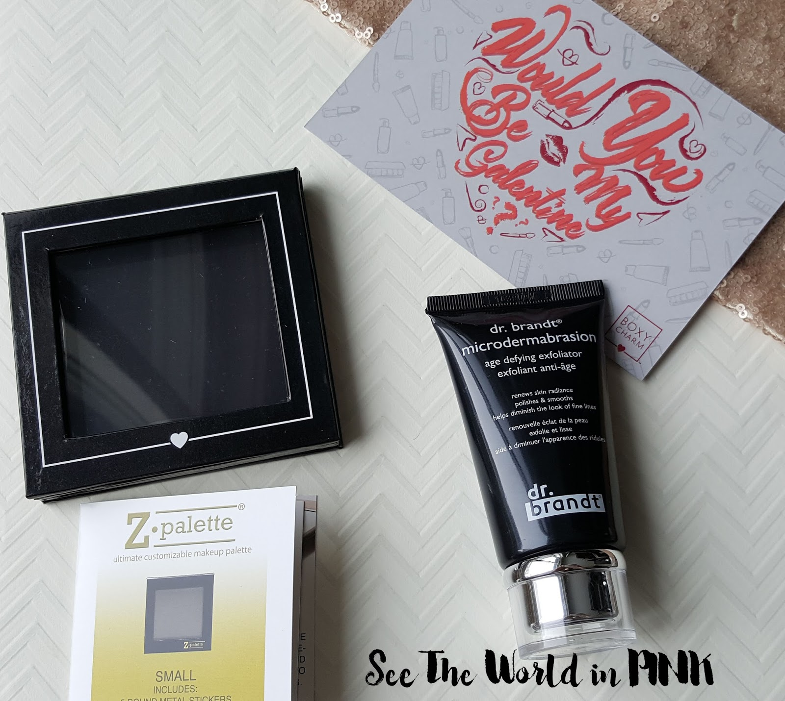 February 2017 Boxycharm - Unboxing and Review