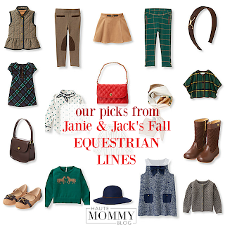 Shopping with Haute Mommy Blog Janie & Jack Fall Equestrian Coupons