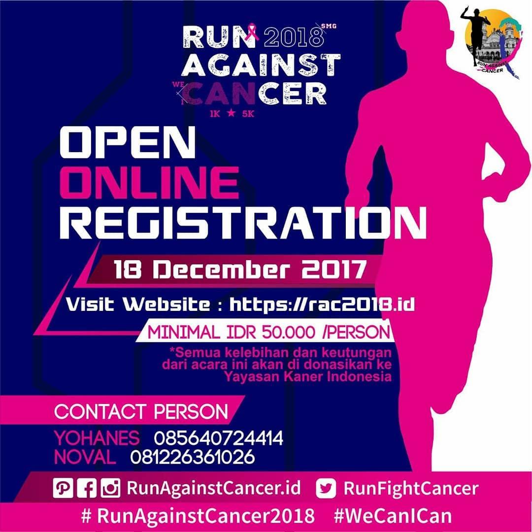 Run Against Cancer • 2018