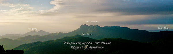 North View from Silyang Bato Mt. Marami - Schadow1 Expeditions