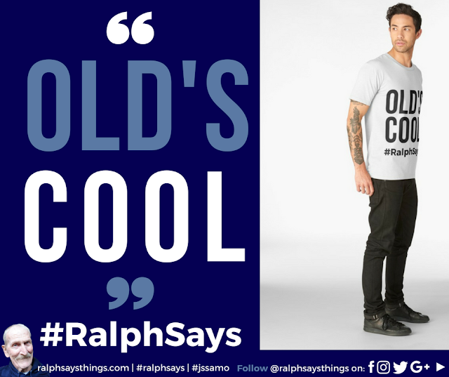 #RalphSays - #Old's Cool & #JSSAMO - first t-shirts sold!