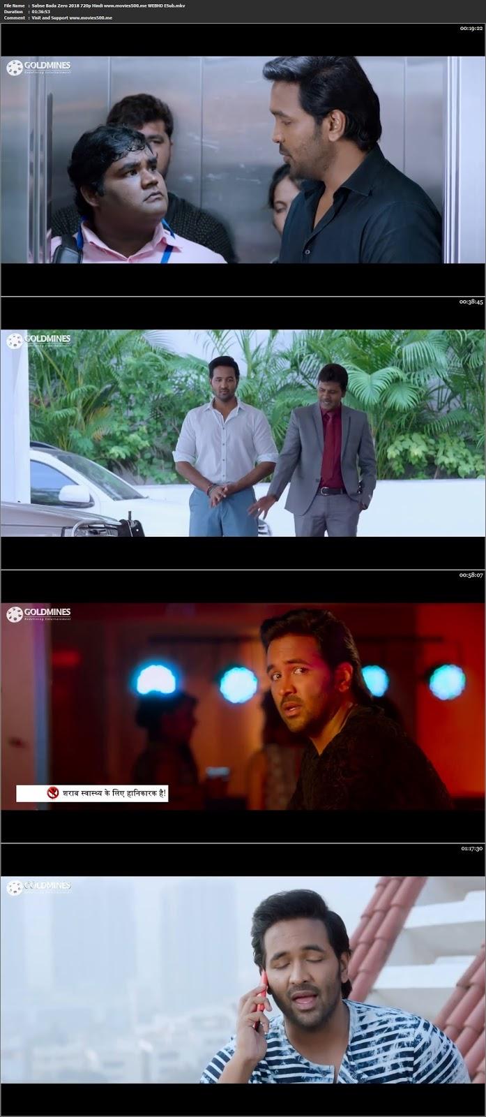 Sabse Bada Zero 2018 Hindi Dubbed Full Movie HDRip 720p ESUb at movies500.site