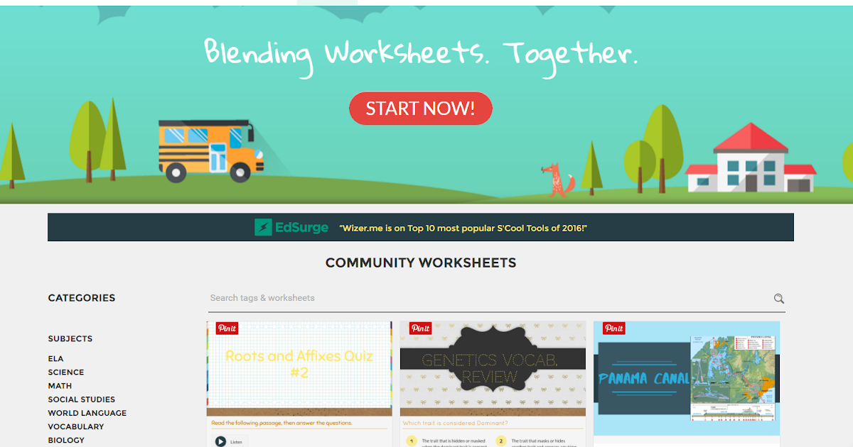 The Techy Teacher Librarian: Using Wizer.me for Digital Worksheets
