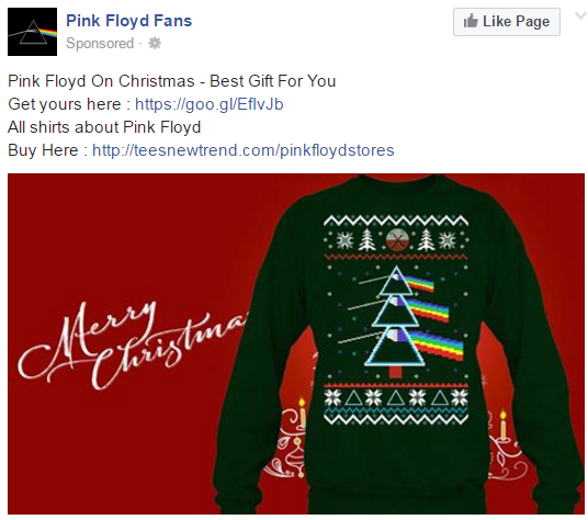 Chewin In The Chung Pink Floyd Christmas Sweater