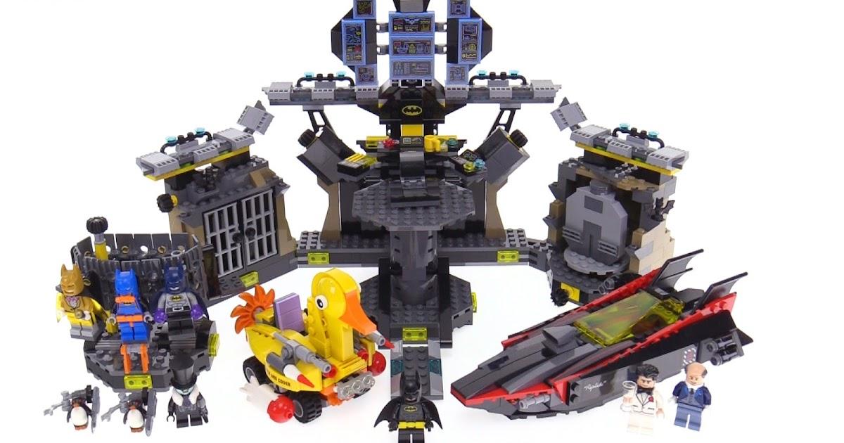 LEGO Batman Movie Batcave Break-In review! 70909