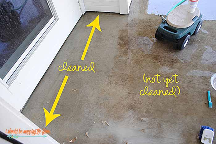 i should be mopping the floor: DIY Miracle Concrete Patio ...