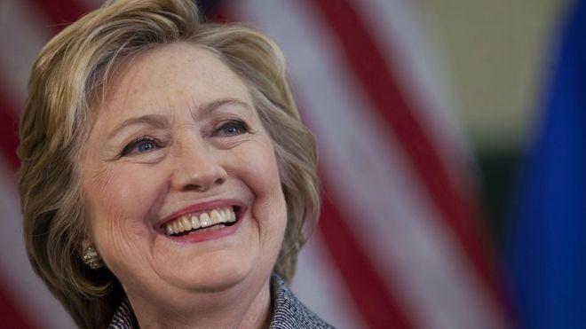 Clinton gets Democratic nomination