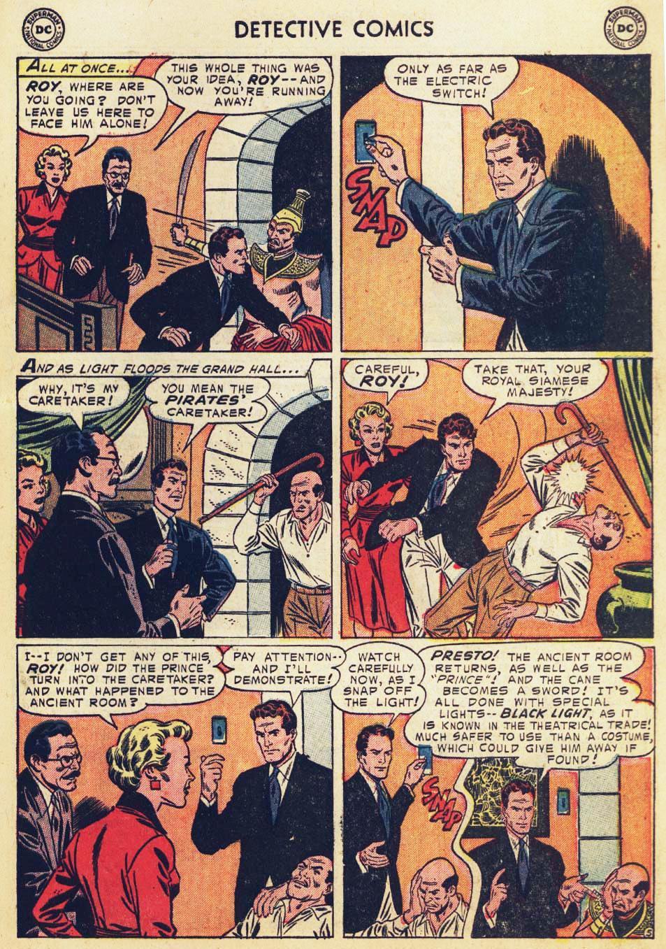 Read online Detective Comics (1937) comic -  Issue #215 - 31