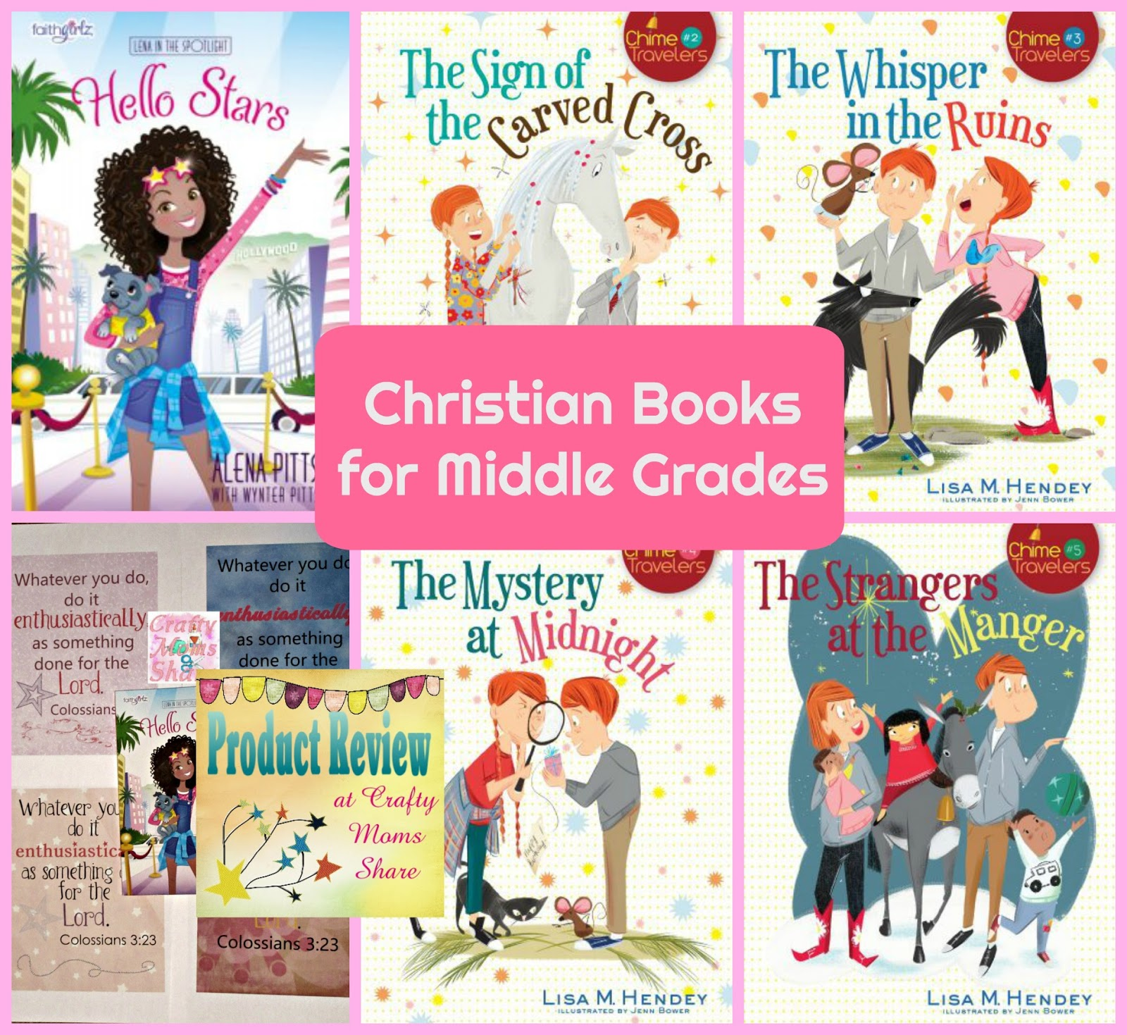 Crafty Moms Share: Religious Chapter Books