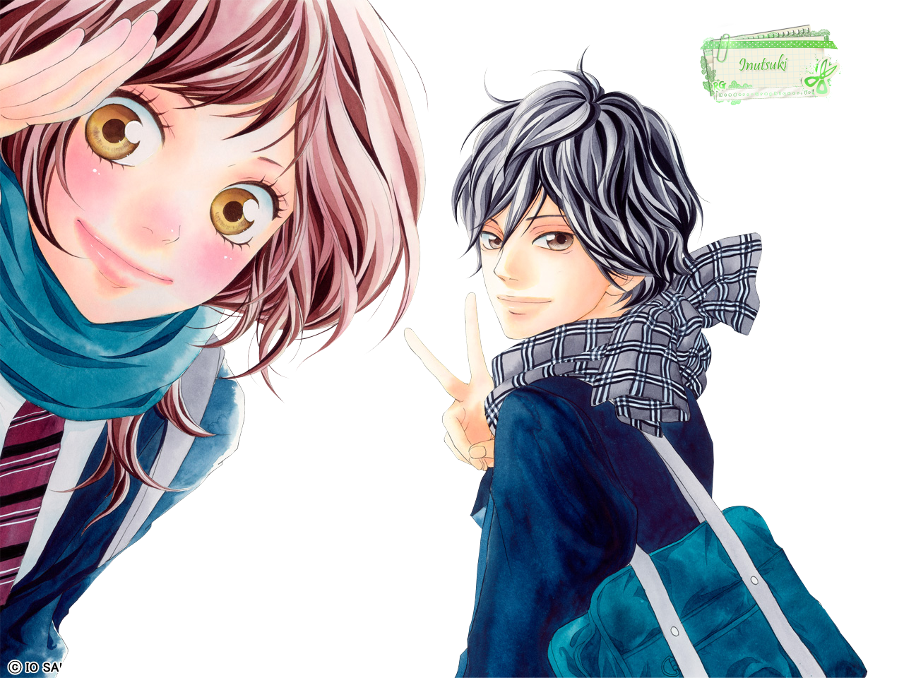 Render Ao Haru Ride