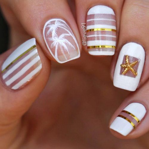 New Fresh Tropical Nail Designs