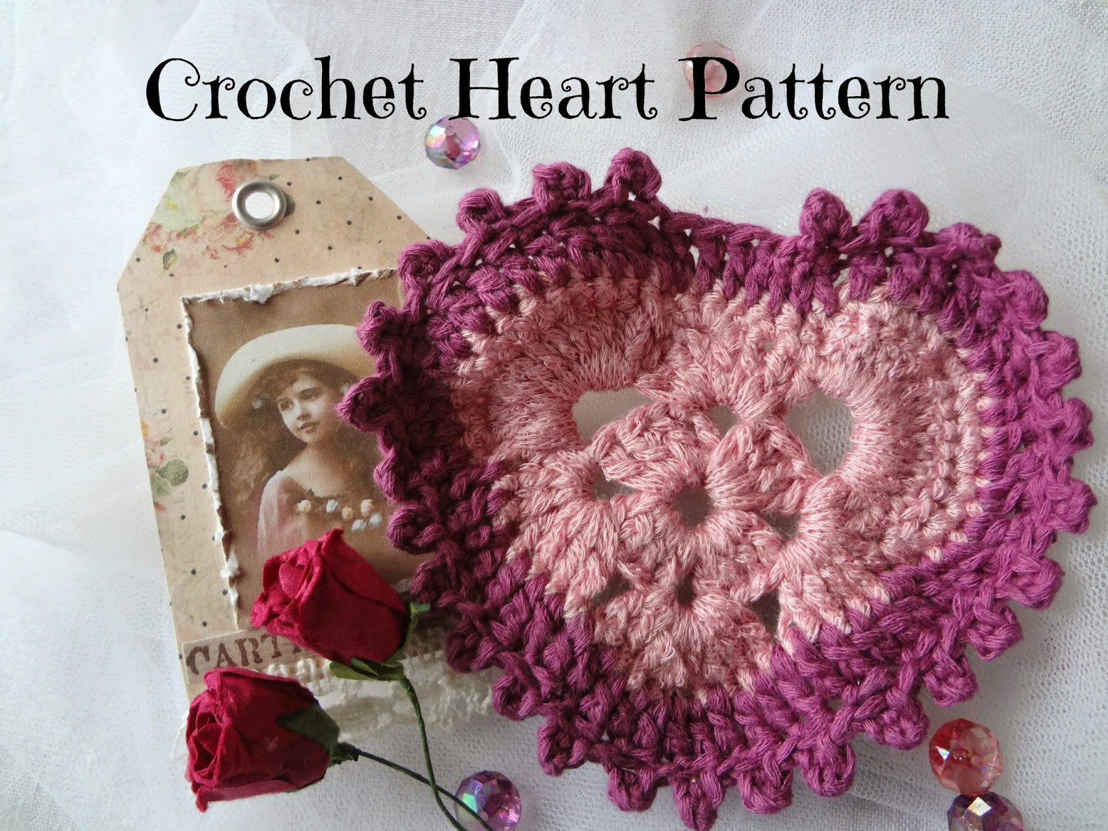 Little treasures crochet heart free pattern crochet heart free pattern bankloansurffo Images