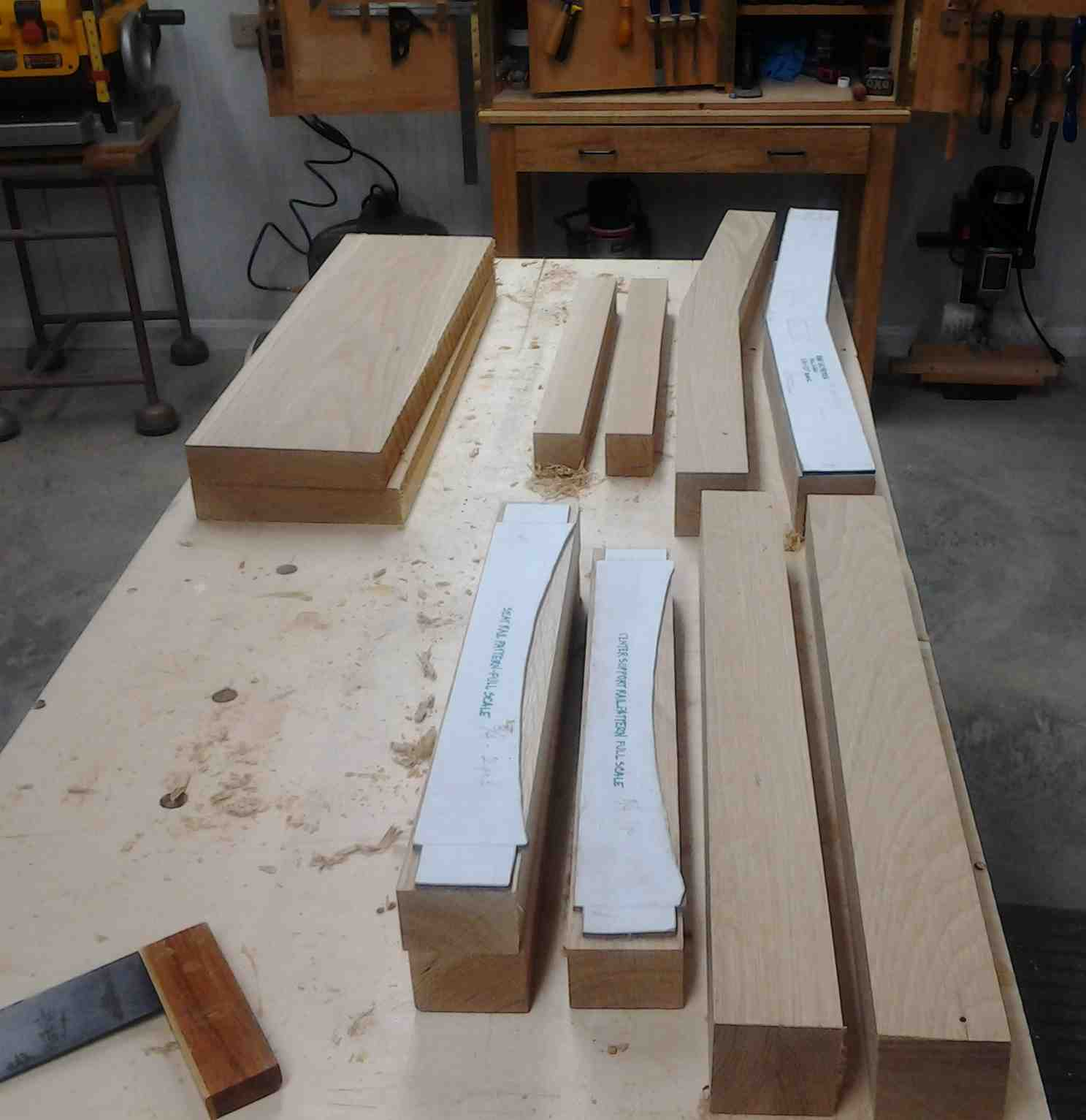 First Light Woodworking Unplugged Japanese Garden Bench