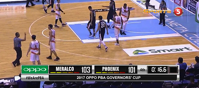 Meralco def. Phoenix, 107-104 (REPLAY VIDEO) August 18