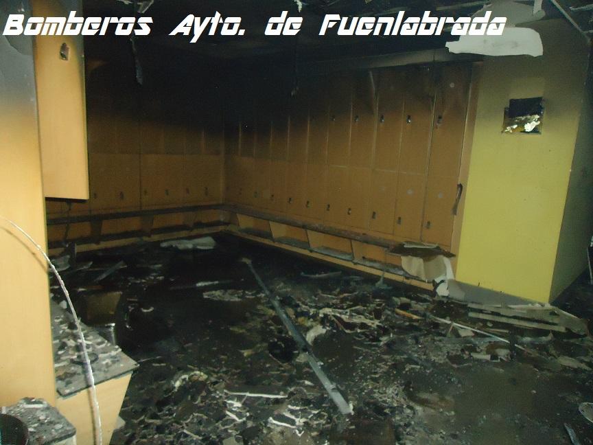 Bomberos de fuenlabrada incendio en gimnasio for Gimnasio con piscina fuenlabrada