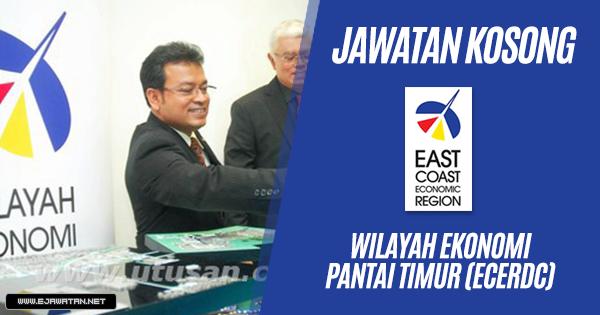 jawatan kosong Wilayah Ekonomi Pantai Timur (ECERDC) 2019