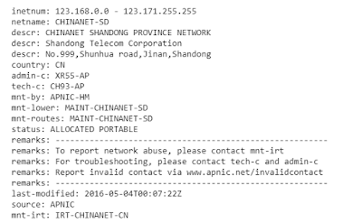 check IP addresses of 404 errors