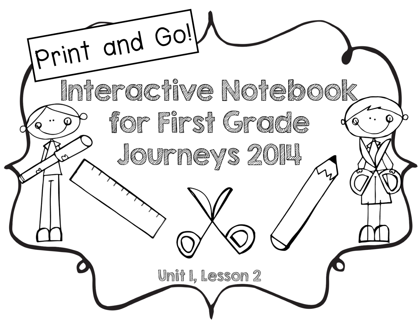 Pride and Primary: Journeys Interactive Notebooks for