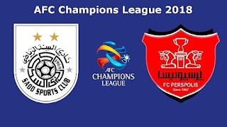 مشاهدة مباراة السد القطري وبيرسبوليس بث مباشر 2-10-2018 دوري أبطال آسيا Al-Sadd vs Persepolis Live