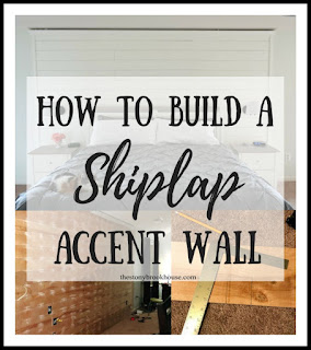 How To Shiplap An Accent Wall