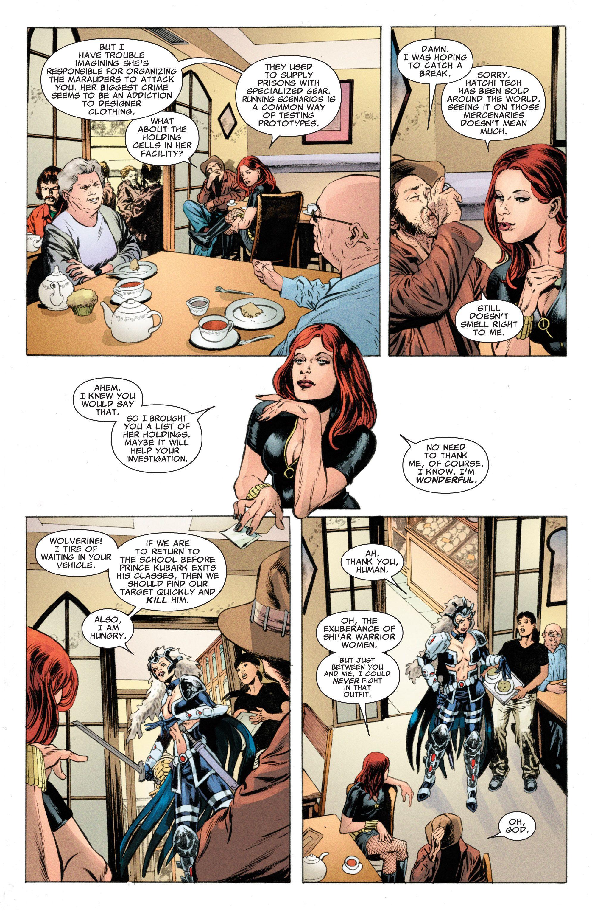Read online Astonishing X-Men (2004) comic -  Issue #50 - 6