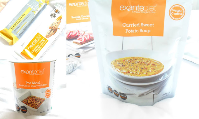 Exante Diet Food Range