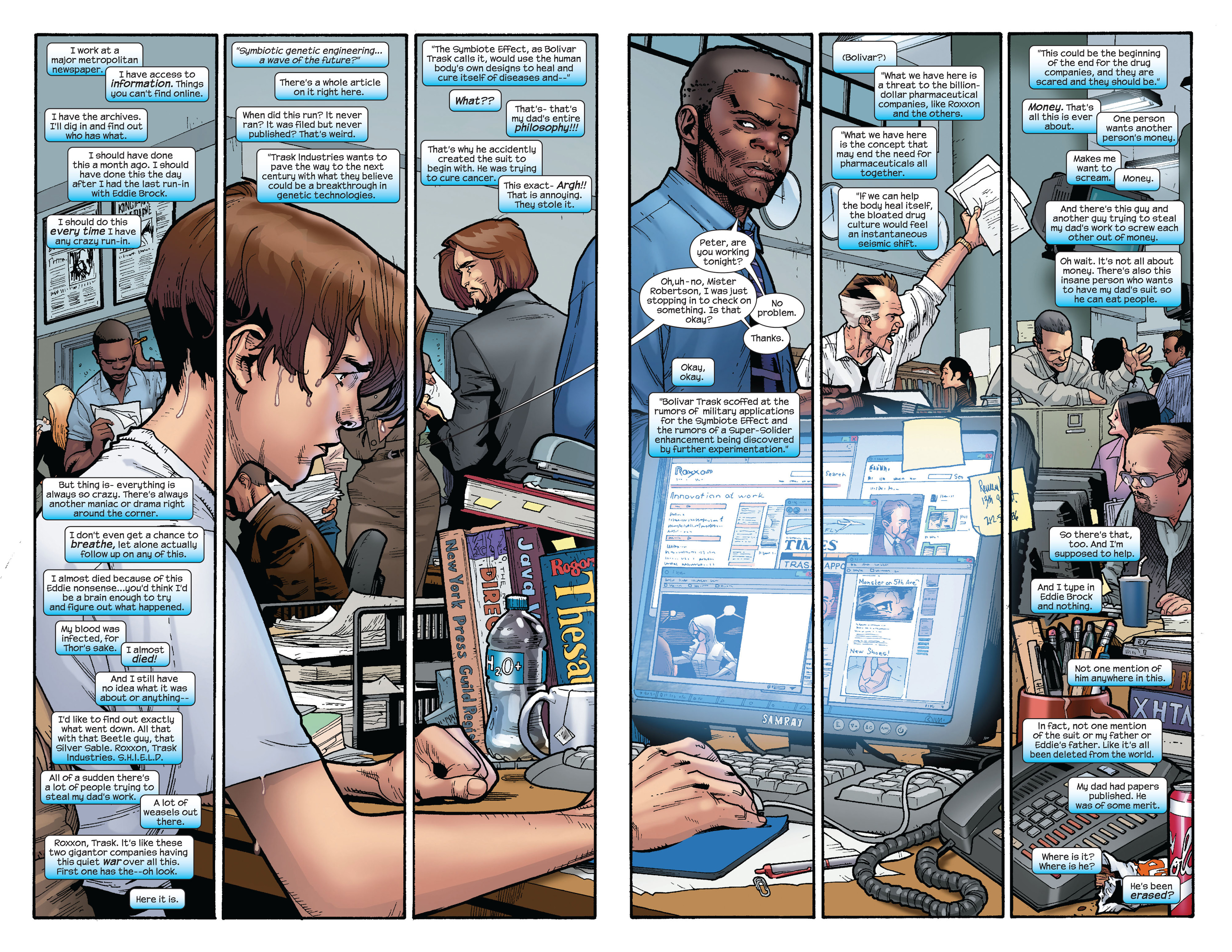 Read online Ultimate Spider-Man (2000) comic -  Issue #127 - 14