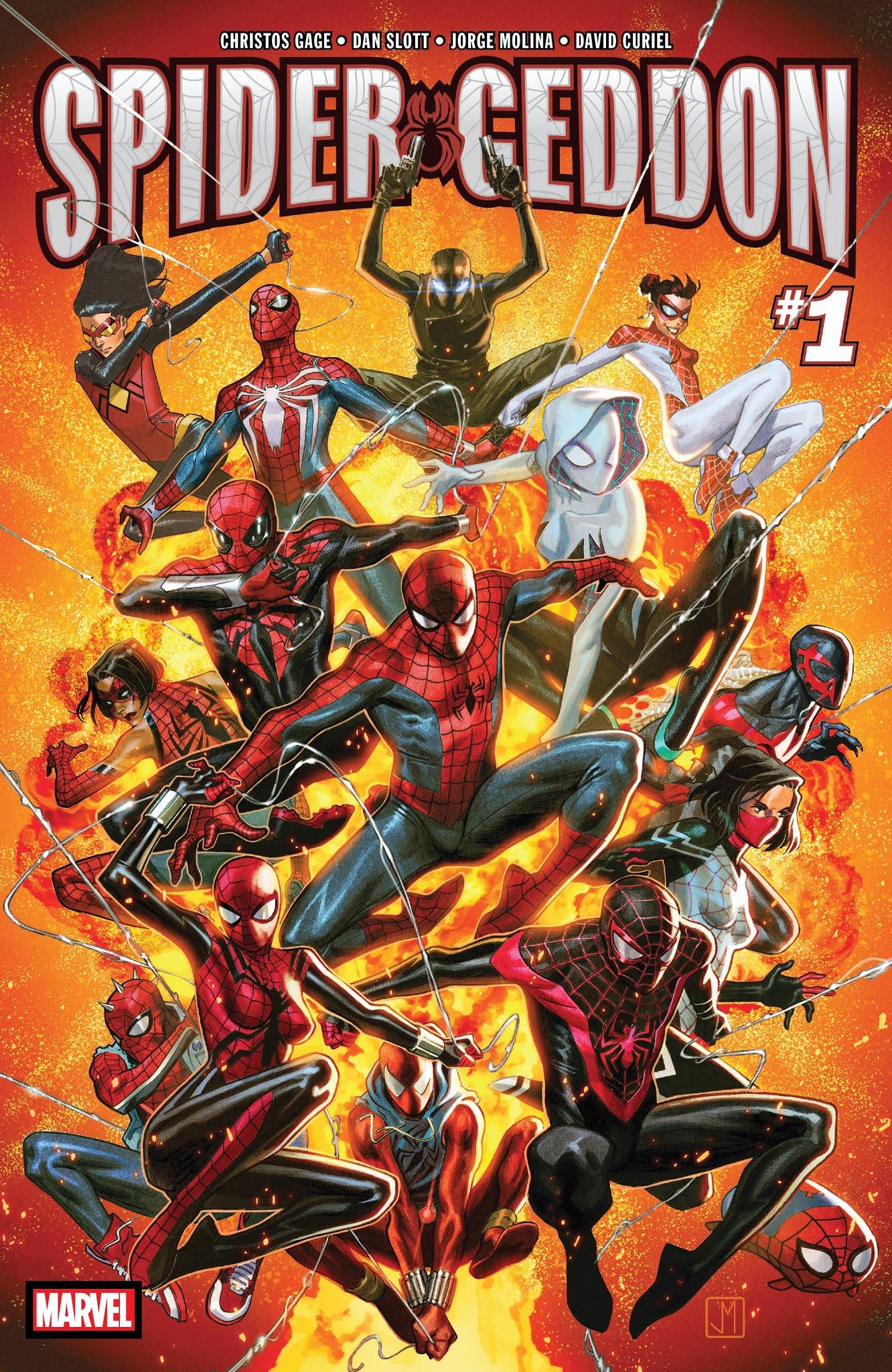 Spider-Geddon 1 Page 1