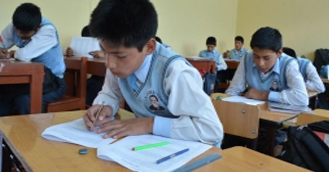 Este lunes 12 de Marzo más de 133 mil estudiantes inician labores escolares en Apurímac