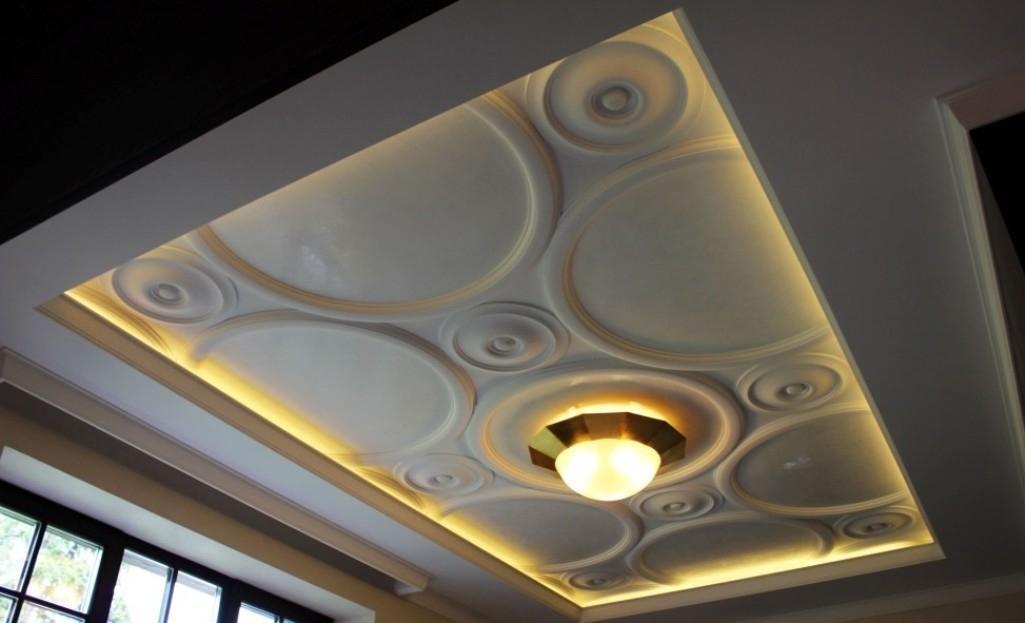 Simple Ceiling Pop Flower Design