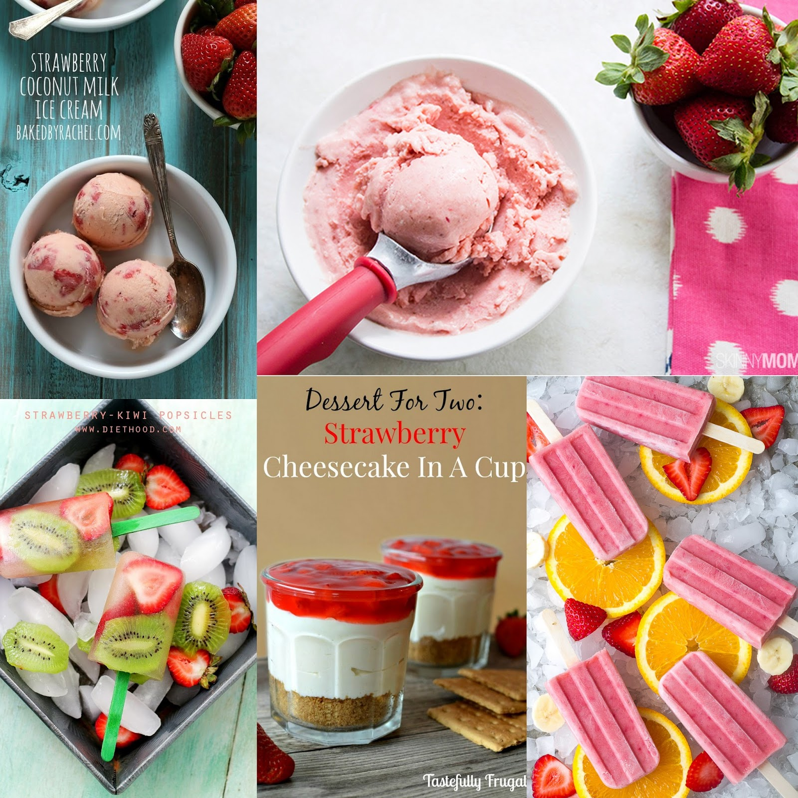 10 Strawberry Recipes for Summer