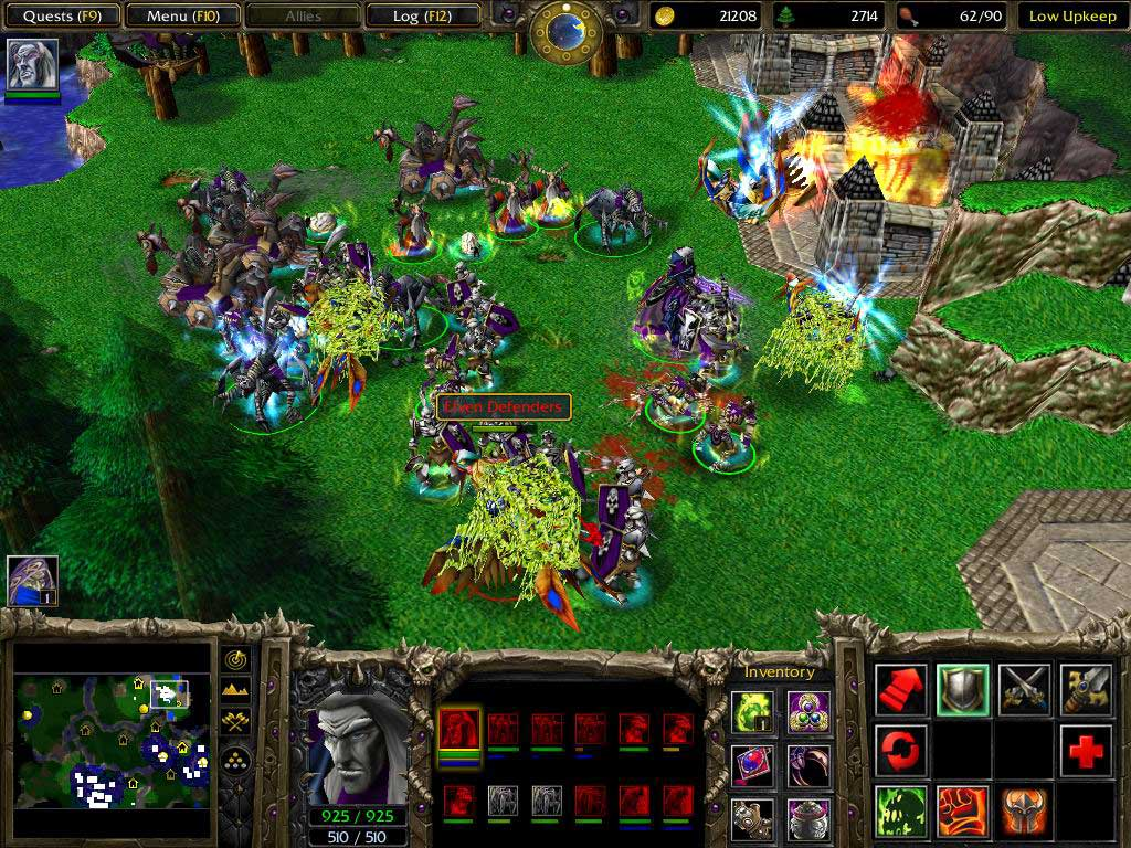 WarCraft 3 The Frozen Throne Free Download PC Games