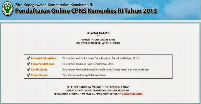 Tata Cara Daftar Online Cpns 2013 Cara Daftar Online Cpns Bnn Pusatinfocpns Cara Mendaftar Online Cpns Kementrian Kesehatan 2013 Berbagi Beragam
