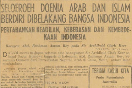 Buat Yang Benci Arab! Sebaiknya Baca Ini, Ingat Arab Tidak Pernah Menjajah Indonesia!