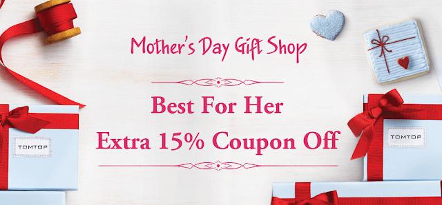 Promoção Dia da Mãe na Tomtop