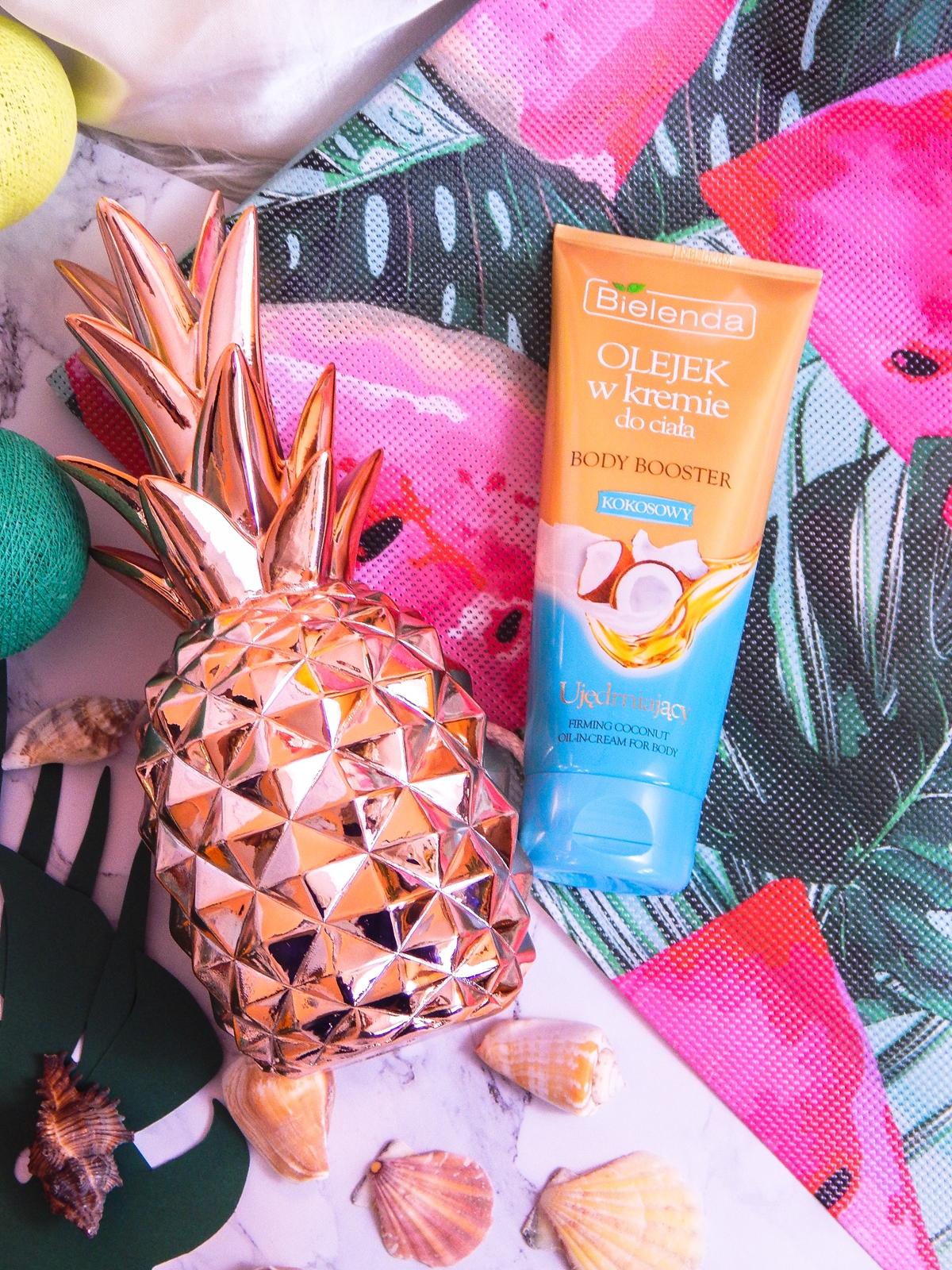 4 bielenda karaibski odżywczy olejek kokosowy do ciała monoi de tahiti recenzja opinia cena melodylaniella blog lifestyle urodowy blogerki z łodzi blogerka recenzje olejek w kremie kokosowy kosmetyki