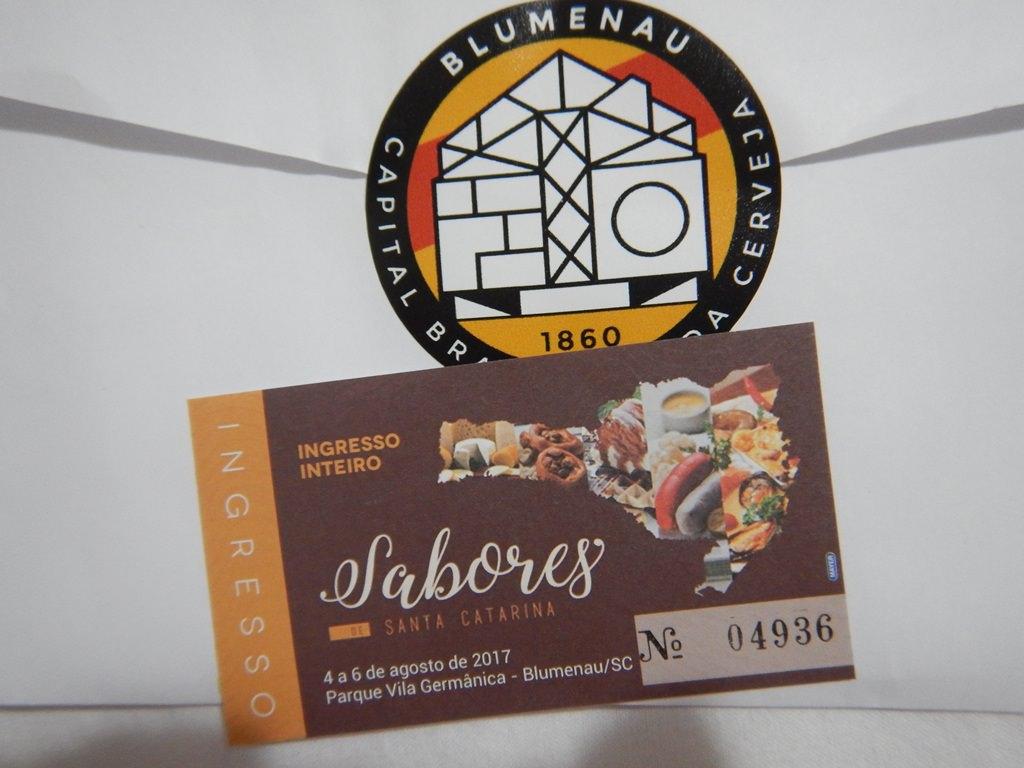 Sabores de Santa Catarina, evento gastronômico em Blumenau