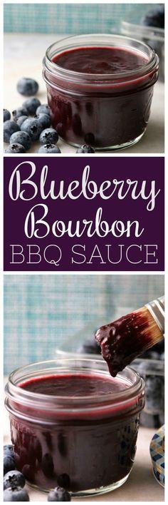 Blueberry Bourbon BBQ Sauce