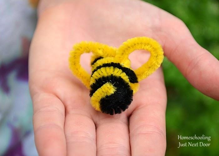 Homeschooling Just Next Door: Pollination by Bees {Hands ...