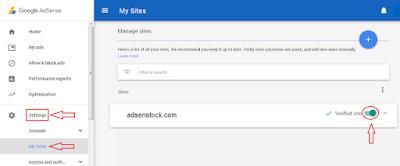 Cara Authorization Situs Di Google Adsense