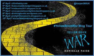 "Book Review & Tour: ""Yellow Brick War"" by Danielle Paige"