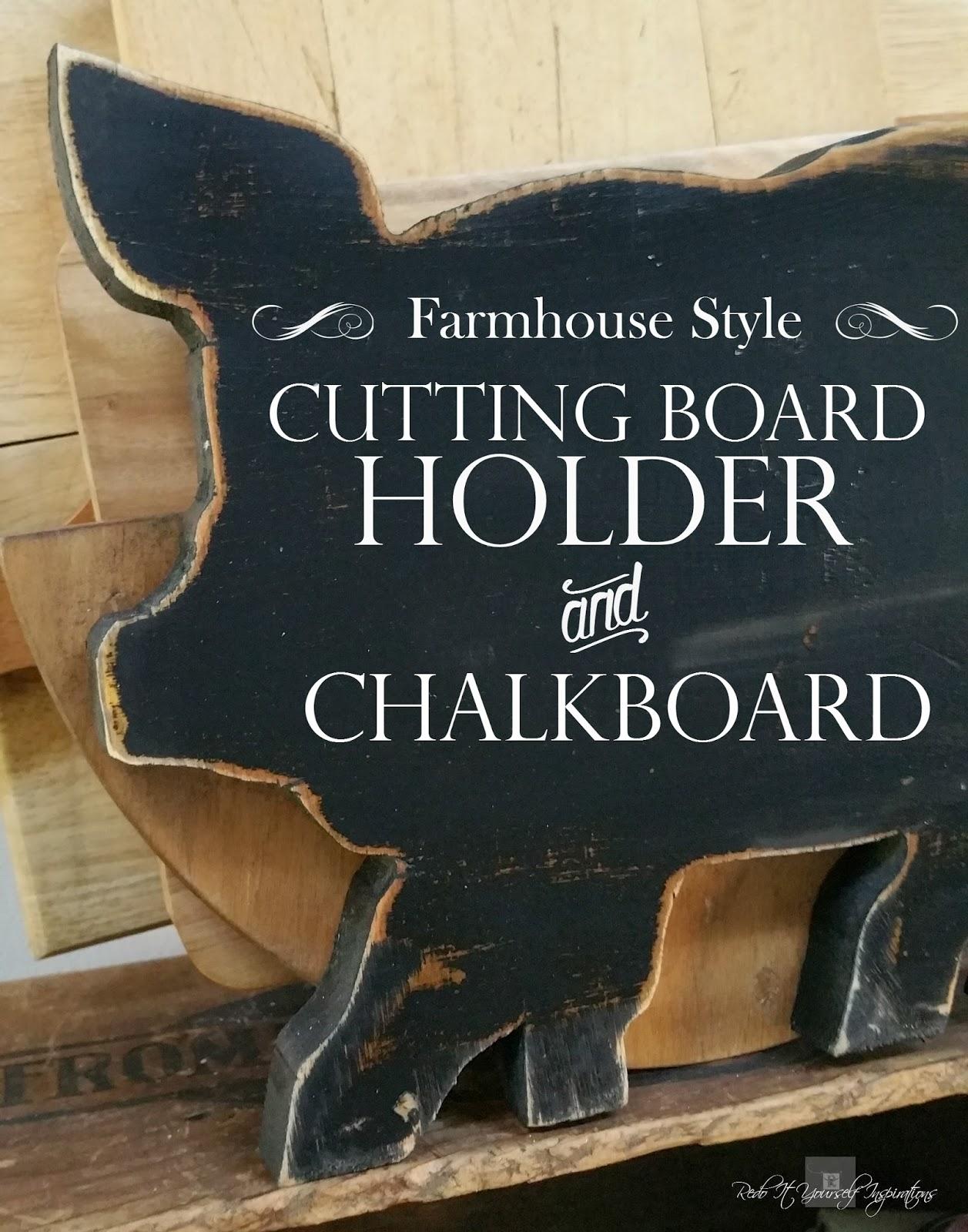 farm style cutting board holder redo it yourself inspirations rh redoityourselfinspirations blogspot com