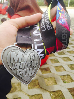 Finisher Medal 5km My Jantung Run