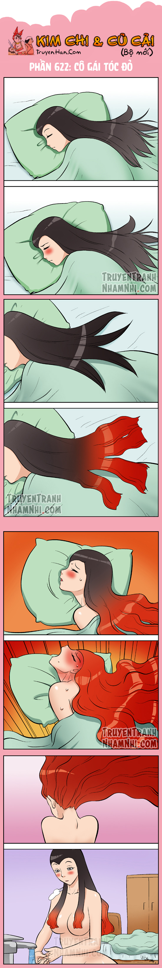 Kim Chi Và Củ Cải phần 622: Cô gái tóc đỏ