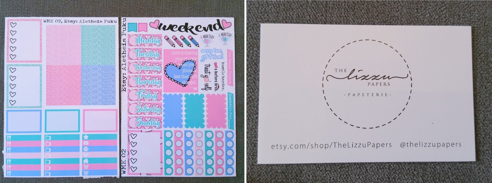 Paperpop.co.uk, planner stationery subscription box, Galentine's Day