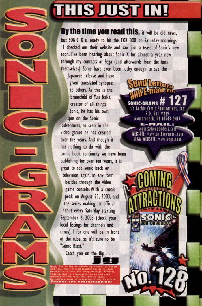 Read online Sonic The Hedgehog comic -  Issue #127 - 25