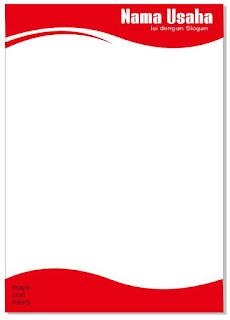 desain kop surat