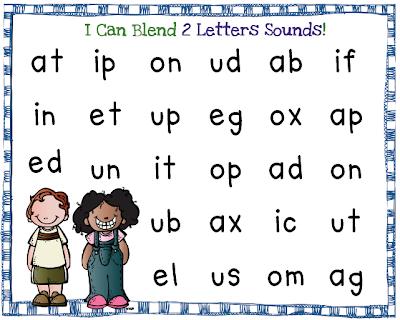 Two Letter Words Kindergarten