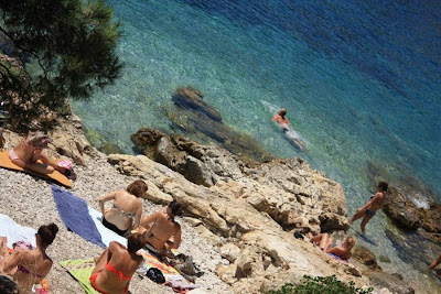 Beach in Hvar